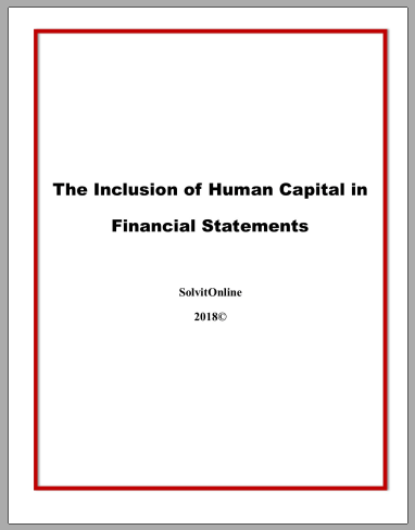 Human Capital and Financial Statements
