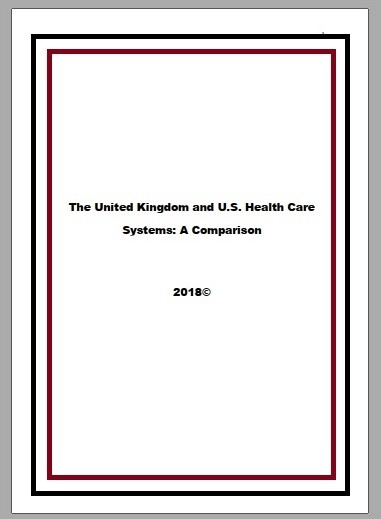 UK and U.S. health care systems comparison